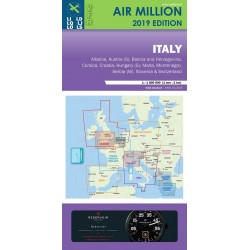 Carta VFR AirMillion Italia