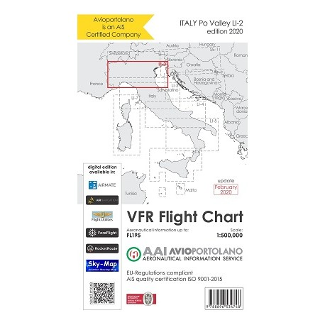 Carta di Navigazione Avioportolano