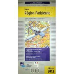 Carta d'area VFR regione Parigi scala 1:250.000