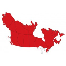 Abbonamento IFR digitale Canada / Alaska per MFD