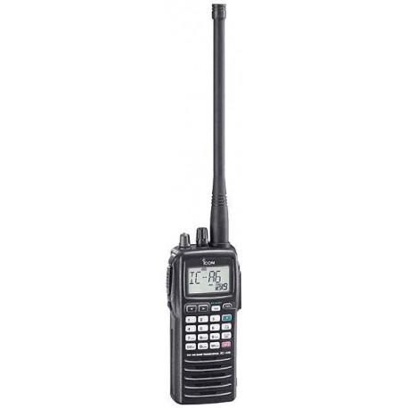 ICOM IC-A6E Ricetrasmettitore VHF Aeronautico