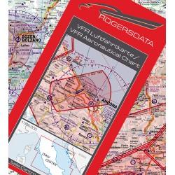 Carte VFR RogersData Italia plastificate